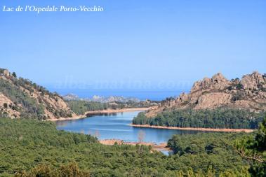 Lac de L'ospedale Corse du sud